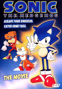 Sonic The Hedgehog: The Movie Box Art